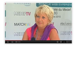 FCE Interview MEDEF TV - Marie-Christine Oghly